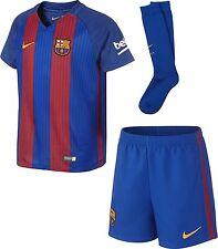 Oficial Nike Barcelona Casa Niños Pequeños Kit Completo De 2016-17, Edad: 3-4 años