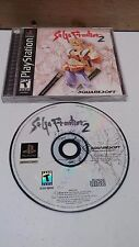 Saga Frontier 2 Playstation 1 PS1 Tested & Working Free Shipping