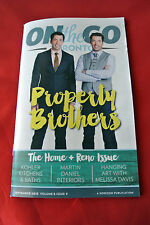 Property Brothers On The Go Toronto September 2015 Canada Magazine NEW