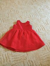 Baby girls 3-6 Months Red Dress, Party, Christmas, M&S
