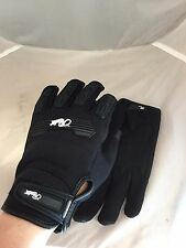 JOE ROCKET WOMENS VELOCITY 2.0 MESH BLACK GLOVES SMALL TOUCH SCREEN