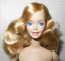 (C) NUDE BARBIE ~BLONDE BLUE EYE PORCELAIN BLUE RHAPSODY SUPERSTAR DOLL FOR OOAK