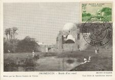 CARTE POSTALE MAXIMUM FROMENTIN BORDS D'UN OUED MUSEE D'ALGER