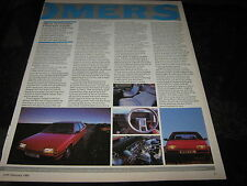 Citroen BX 1.9 GT reg.no. B361EBL and Citroen Visa TRS articles