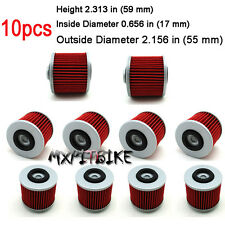10x Gas Oil Filters For Aprilia Pegaso 650 660 MUZ660 Skorpion HF145 Replace