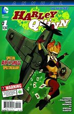 "HARLEY QUINN #1 ANNUAL - USA ""BOMBSHELL"" Variant - Polybagged - Cannabis Warning"