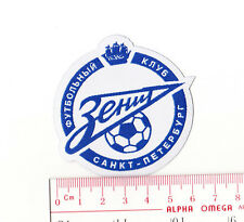 kiTki Zenit St Petersburg russian soccer football team iron-on embroidered patch