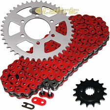 Red O-Ring Drive Chain & Sprockets Kit Fits KAWASAKI ZX750P Ninja ZX7R 96-03