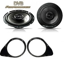 Fiat Punto 2005 onwards Pioneer 17cm Front Door Speaker Upgrade Kit 240W