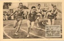 CARTE POSTALE SPORT ATHLETISME COURSE DE RELAIS PRAGUE REPUBLIQUE TCHEQUE