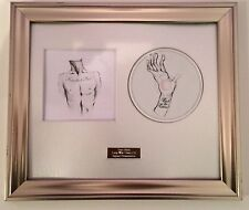 PERSONALLY SIGNED/AUTOGRAPHED  BAT FOR LASHES-HAUNTED MAN CD FRAMED PRESENTATION