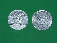 1970 FOOTBALL MEXICO 70 MEDAILLE ESSO ENGLAND HENRY NEWTON NOTTINGHAM DEDICACE
