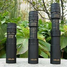 New 10-30x25 Zoom Optical Monocular Telescope Outdoor Hunting Camping Portable