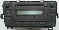RADIO CD - MP3 TOYOTA PRIUS ZVW30 OEM: 86120-47340