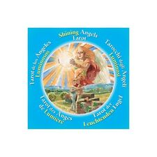 NEW Shining Angels Tarot Deck Round Cards Lo Scarabeo