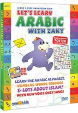 Let's learn arabicwith zaky, Learn alphabet numbers words colours with zaky