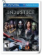 PSV Injustice Gods Among Us Ultimate Edition SONY VITA Fighting Warner Games