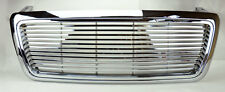 Ford F150 04-08 Horizontal Billet Style Chrome Front Hood Bumper Grill