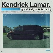 KENDRICK LAMAR - GOOD KID,M.A.A.D CITY (DELUXE EDITION)  2 CD  HIPHOP/RAP  NEW+