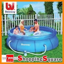 BESTWAY 10 FT Inflatable Outdoor Swimming Pool Filter Pump 305 x 72cm