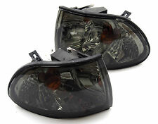 BMW 7 E38 1994-1998 smoked turn signal indicator blinker lights set pair