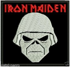IRON MAIDEN EMBROIDERED PATCH HEAVY METAL NWOBHM EDDIE RARE Metal Negro