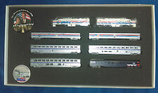 """N Con-Cor """"Whistle Stop"""" Tour Train for 1996 Election, with buttons  1-8521"""