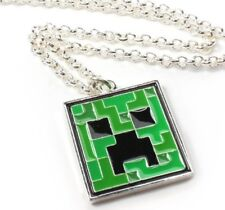 Minecraft Creeper Necklace Popular For Birthday Presents Very Quick UK Post!