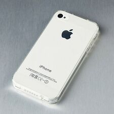 2014 Soft Crystal Clear Transparent Dust proof Case Cover For iPhone 4 4S 5 5S K