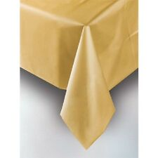 GOLD PLASTIC TABLECOVER TABLE COVER Party Supplies!! For Any Party!