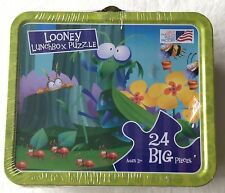 Wacky Bugs A Looney Lunchbox 24 Large Piece Puzzle - NEW Sealed