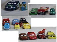 Disney Pixar Cars 2 Metal Die Cast Lot of 15 Mattel Luigi Guido Sheriff McQueen