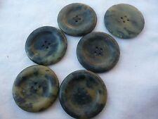 6 boutons anciens  vintage bakélite
