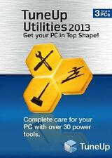 TuneUp Utilities 2013: (PC-DVD) NEW SEALED UP TO 3 PCS TUNE UP