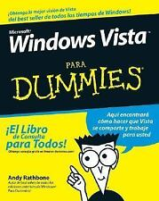 Windows Vista para Dummies by Andy Rathbone (2007, Paperback)