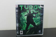 Turok (Sony Playstation 3, 2008) *Tested / Complete