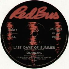 IMAGINATION - Last Days Of Summer / Shoo Be Doo Da Dabba Doobee - R & B