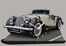 MODEL CARS, MORGAN-03,11,8x 7,8 inches and aluminium with Clock