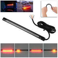 Flexible 12V 32 LED Motorcycle Light Strip Tail Brake Stop Turn Signal Lampadine