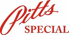 Pitts Special Aircraft Logo Decal/Vinyl Stickers