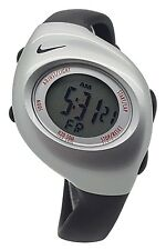 New Nike Kids Triax Junior WR0017 Special Black and Silver Digital 38mm Watch
