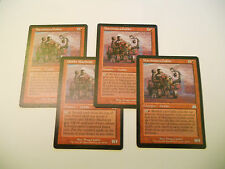 4x MTG Macchinista Goblin-Machinist Magic EDH ONS Assalto ITA-ING x4