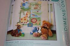 SAVANNAH QUILT cross stitch kit Dimensions baby quilt crib cover  NIP