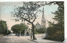 Wales Postcard - Conway Road & St John's Church, Colwyn Bay  A6016