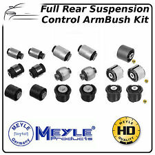 BMW E46 3 Series Meyle Complete Rear Subframe & Control Arm Bush Kit HD 17pieces