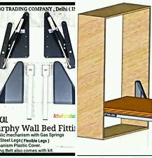 Murphy Wall Bed Hydrolic Mechanism Kit 1200N/120kgs For Queen/King Size Beds.