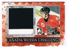 2007-08 ITG HEROES AND PROSPECTS CANADA RUSSIA CHALLENGE JERSEY CLAUDE GIROUX !!