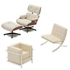 Reac Miniature Designer Chair figure Dollhouse Interior ltd white 01LT-01 01LT-2