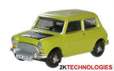 Oxford 76MN005 Austin Mini Lime Green - Like Mr Bean -1/76 Scale New in Case 1st