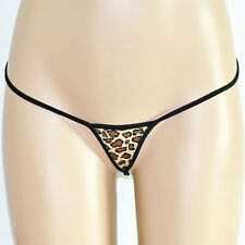 Leopard V-String Thong,Thong,G-string,Sexy Lingerie,Thong Leopard,Free P&P